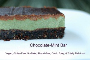 St. Patty's Day Chocolate-Mint Bars