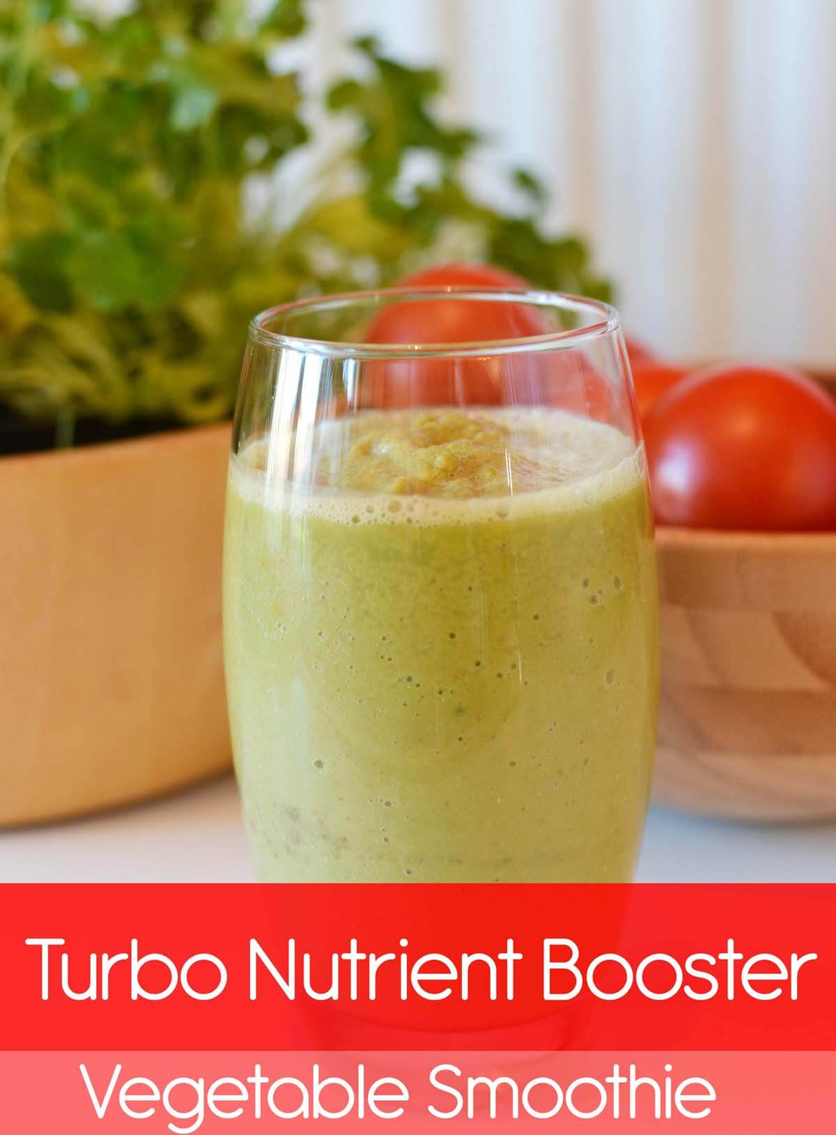 Turbo Nutrient Booster Vegetable Smoothie