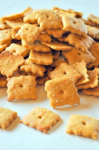 Vegan Cheez-It Crackers