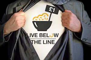 Living Below the Line on just £1 /  $1.50 a day for 5 days