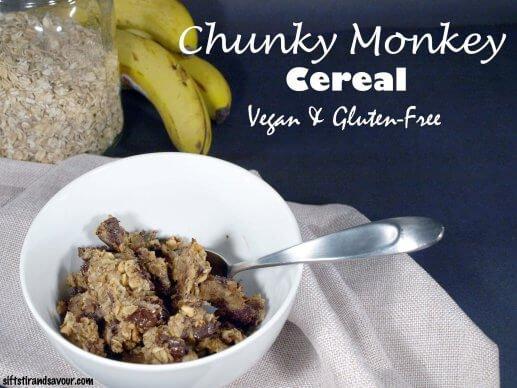 5-Ingredient-Mondays-SUGAR-FREE-CHUNKY-MONKEY-CEREAL-Vegan-Gluten-Free