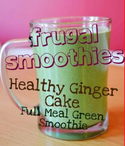 Cheap Smoothies Ginger Cake Full Meal Green Smoothies 1