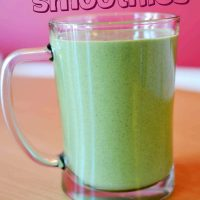 Healthy Ginger Cake (Frugal Full Meal Green Smoothie)