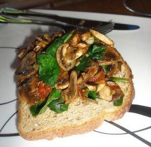 Mother's Day Breakfast Mushrooms
