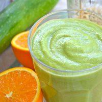 Creamy Dreamy Orange Green Thickie