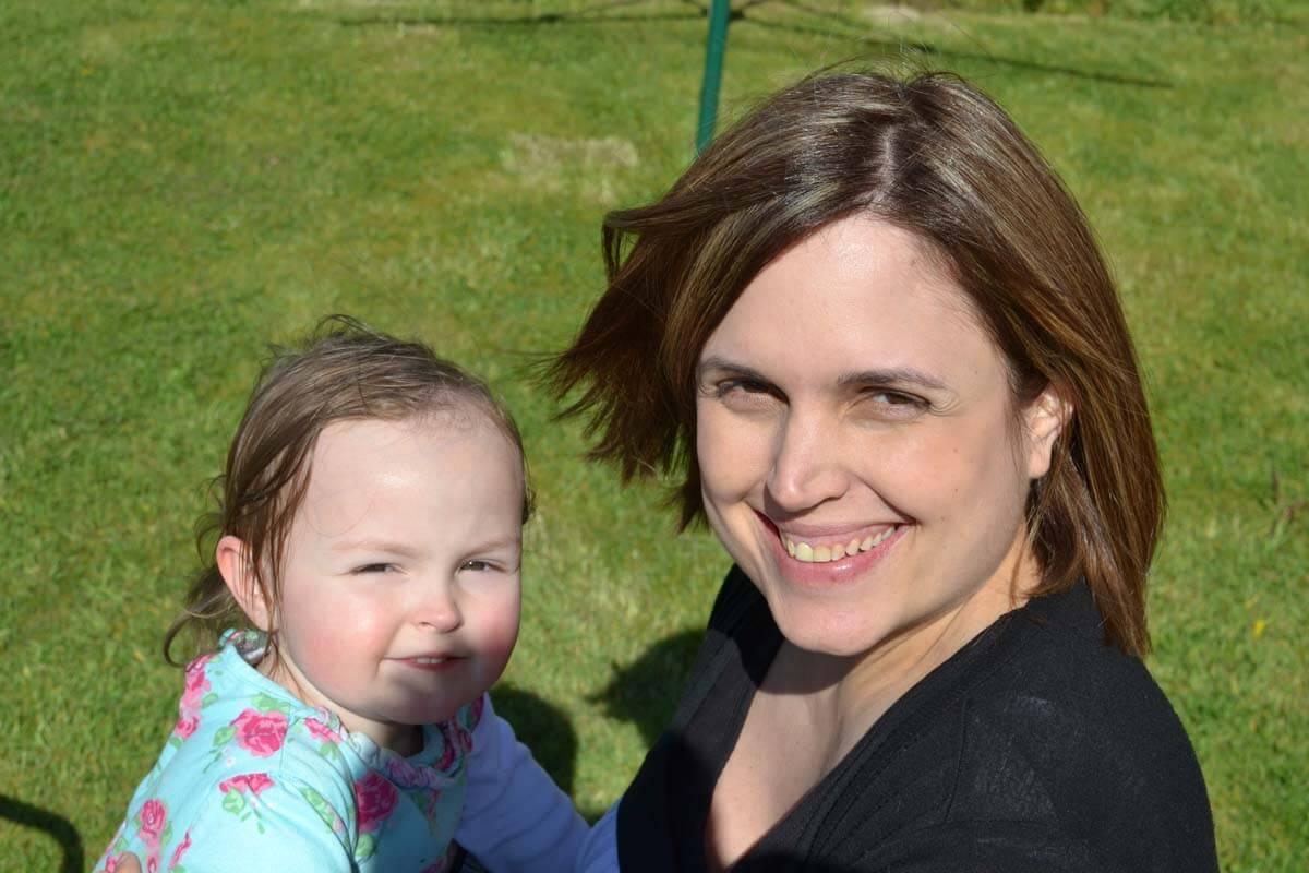 Katherine and little girl
