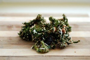 Kale Granola (or Raw Coconut Almond Kale Chips)