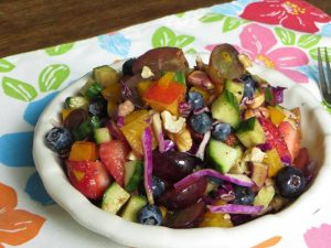 Not-your-average Fruit Salad