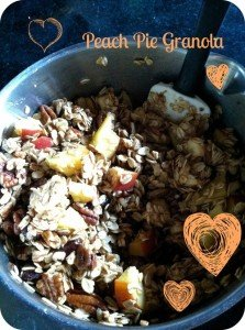 PEACH PIE GRANOLA