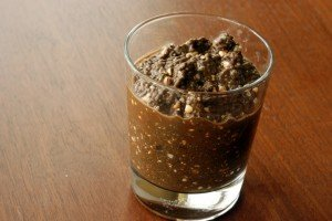 Chocolate Chia Goodness Pudding (A Portable, Instant Breakfast, Perfect for Travel)