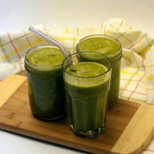 Use any mild greens to make a Green Thickie