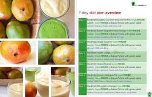 Green Thickies Diet Plan overview
