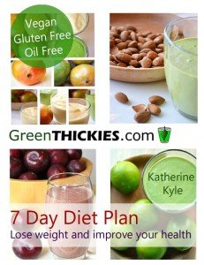 Green Thickies 7 Day Diet Plan ebook for weight loss and improved health