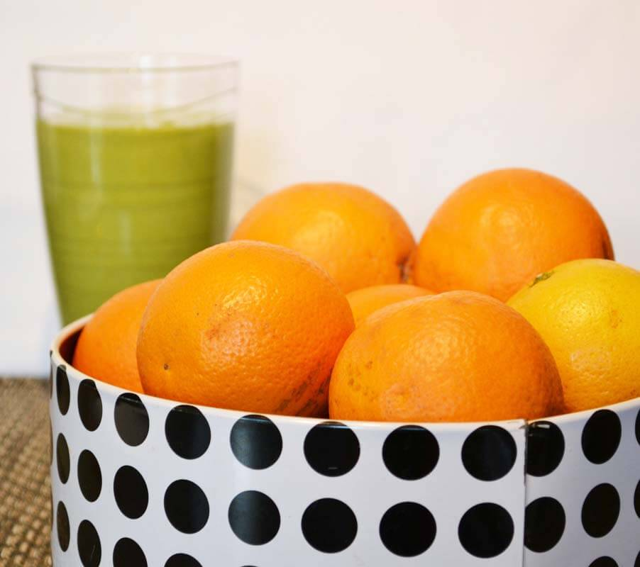 Grapefruit and Sweet Orange Smoothie