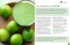 Green Thickies 7 Day Diet Plan ebook