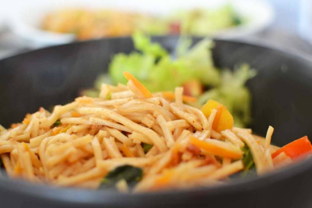 Satay Noodles Stir Fri