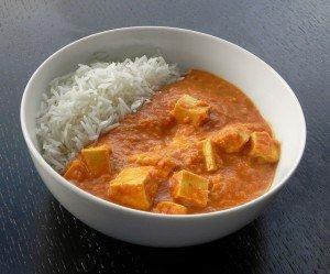Tofu Paneer Tikka Masala