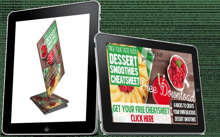 Dessert Smoothie Cheatsheet