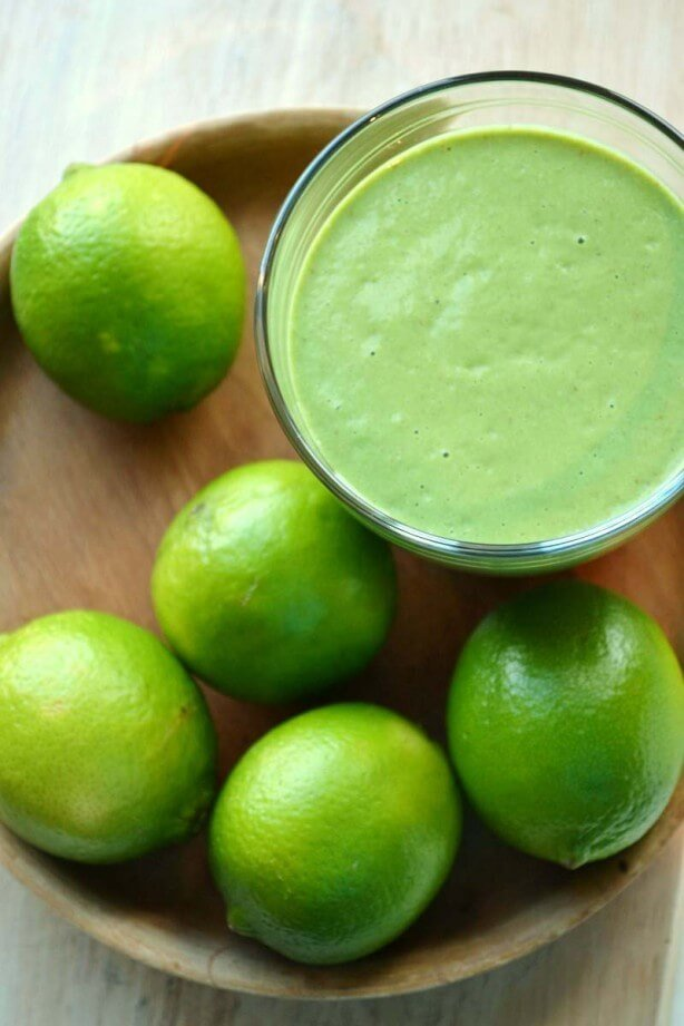 Green Thickies Healthy Key Lime Pie Smoothie