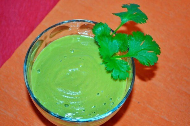 Moroccan Spiced Green Thickie Smoothie