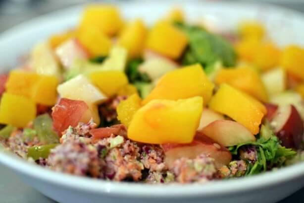 Rainbow Salad from Raw Garden Recipe Book