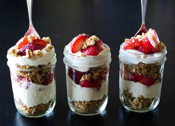 Recipe Redux Strawberry Cheesecake Parfait