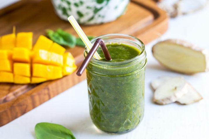 complete meal green smoothies