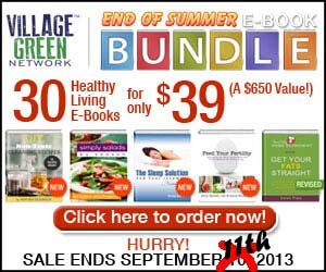 30 Healthy Living E-Books End of Summer bundle for just $30 7 extended