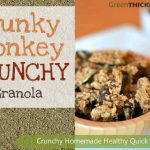 Chunky Monkey Smoothie Topper 3 Way Snack