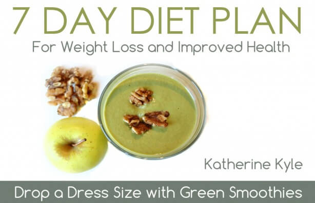 GreenTHICKIES 7 Day Diet Plan Front Cover