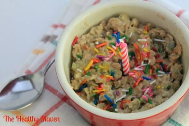 Happy Birthday Oatmeal