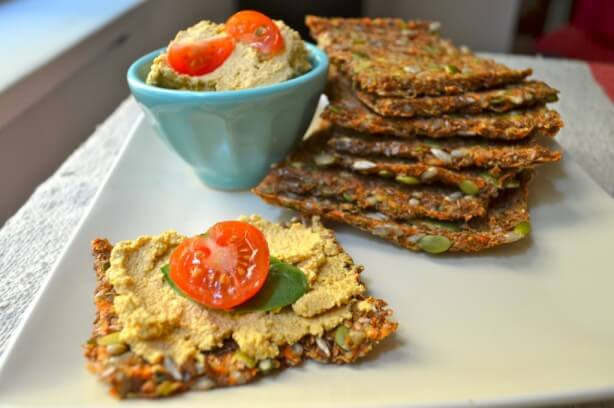 RAW CARROT SANDWICH BREAD