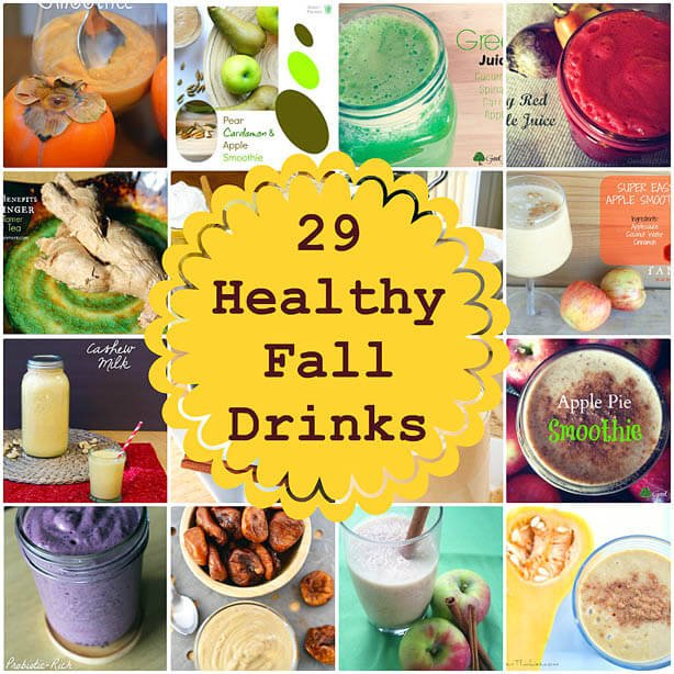 29 Healthy Fall Drinks by Green Thickies