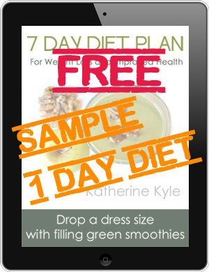 7 Day Diet Plan 1 Day FREE Sample