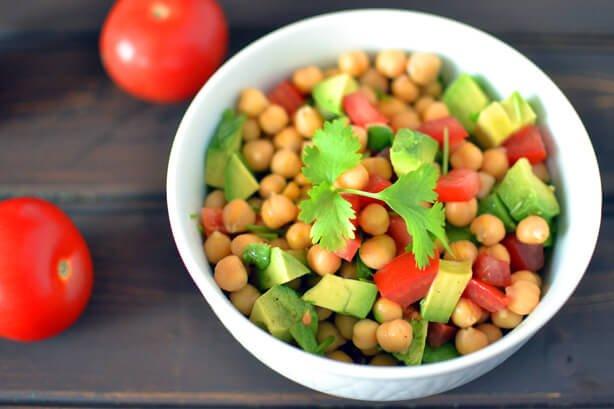 Chickpea Salad from Gluten Free Vegetarian