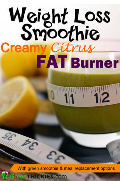 Creamy Citrus Fat Burner Weight Loss Smoothie