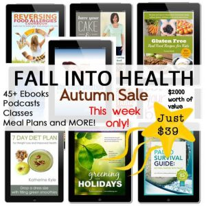 Fall into Health Autumn Bundle at Green Thickies