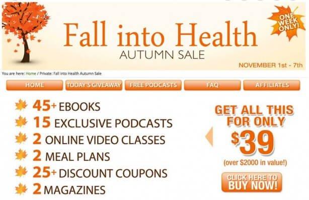 Fall into Health Bundle image