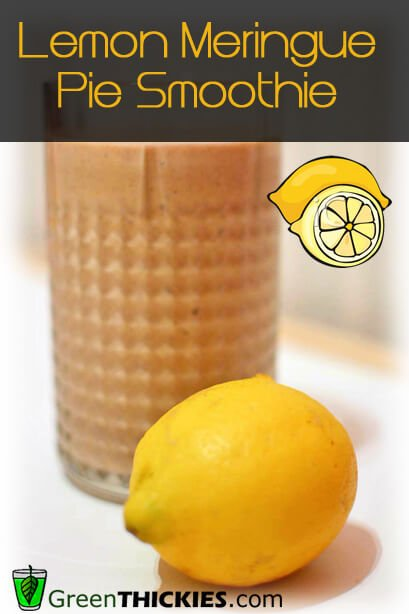Lemon Meringue Pie Smoothie Sample text