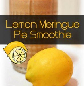 Lemon Meringue Pie Smoothie