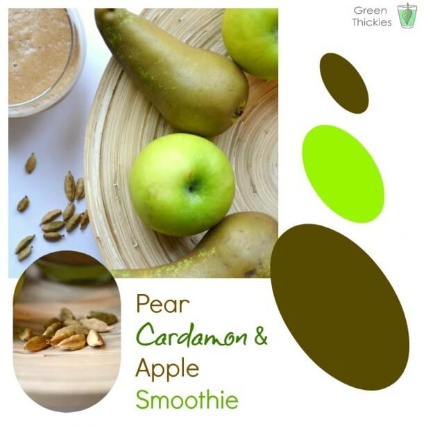 Pear, Cardamon and Apple Smoothie
