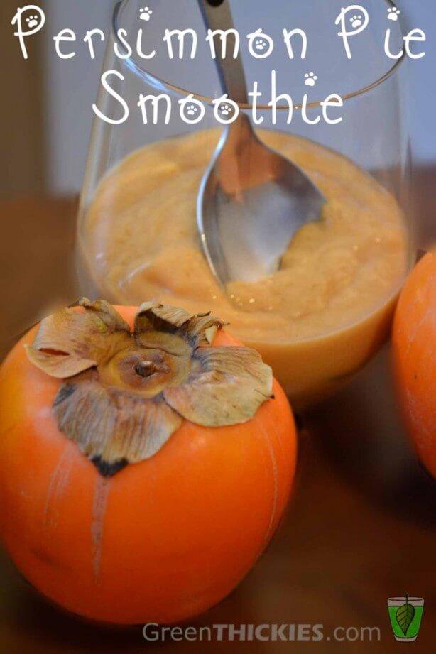 Persimmon Smoothie Dessert