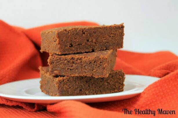 Roasted Kabocha Squash Brownies