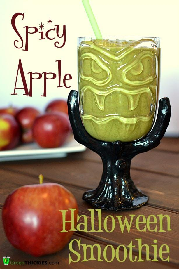 Spicy Apple Halloween Smoothie