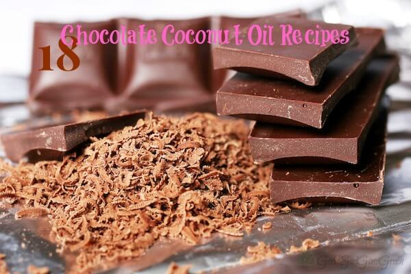 18 Dairy Egg and Gluten Free Chocolate Coconut Recipes