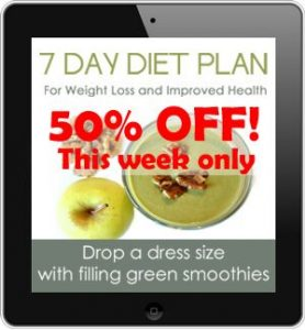 7 Day Diet Plan Front Cover Square 50 Off