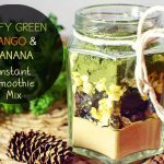 Leafy Green Mango and Banana Instant Smoothie Mix