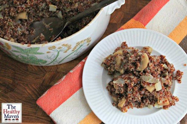 Mushroom Quinoa Casserole