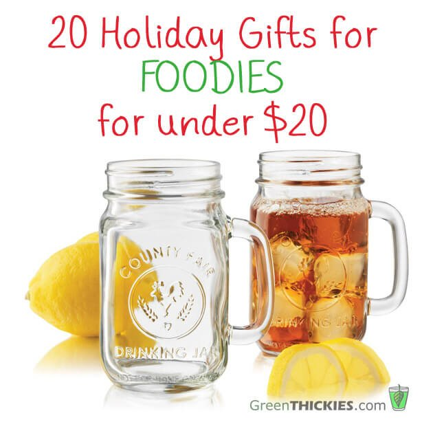 20 holiday gifts for foodies for under $20