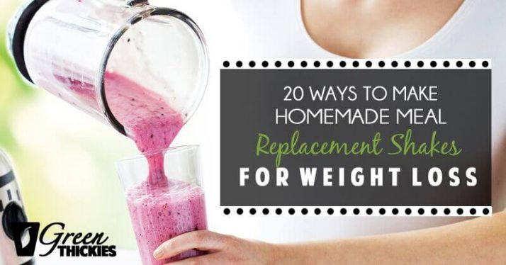 20 Ways To Make Homemade Meal Replacement Shakes For Weight Loss Suitable All Special Ts